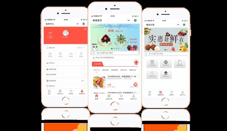 甬乐购宁波小程序水果零售平台上线